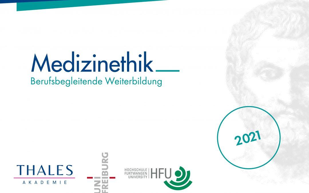 Neustart der Weiterbildung Medizinethik im März 2021