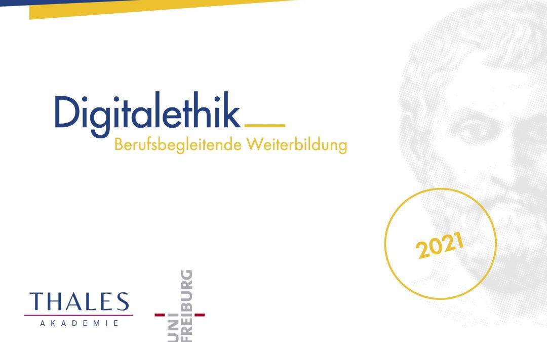 Weiterbildung Digitalethik (CAS) – Restplätze verfügbar bis 31.01.